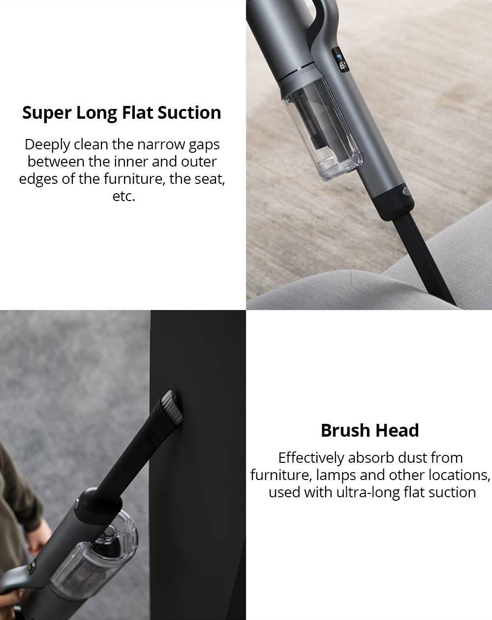 xiaomi roidmi nex 2 pro x30 handheld cordless vacuum cleaner (cn plug) -  geekmaxi.com  geekmaxi.com