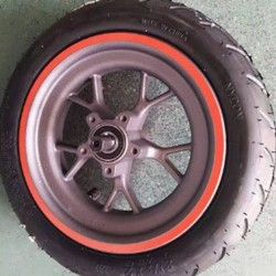 The Rear Tire For KUGOO M2 Pro Foldable Electric Scooter