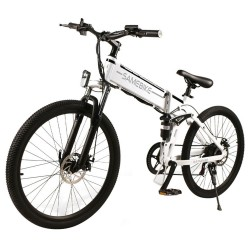 Samebike LO26 Smart Foldable Electric Moped Bike  - Spoke Wheel Version