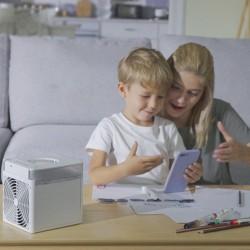 NexFan Tragbarer multifunktionaler Luftkühler mit schneller Abkühlung
