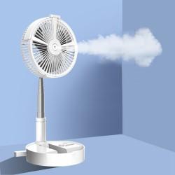 Intelligenter, tragbarer, faltbarer und höhenverstellbarer Ventilator mit Hydratation-Funktion