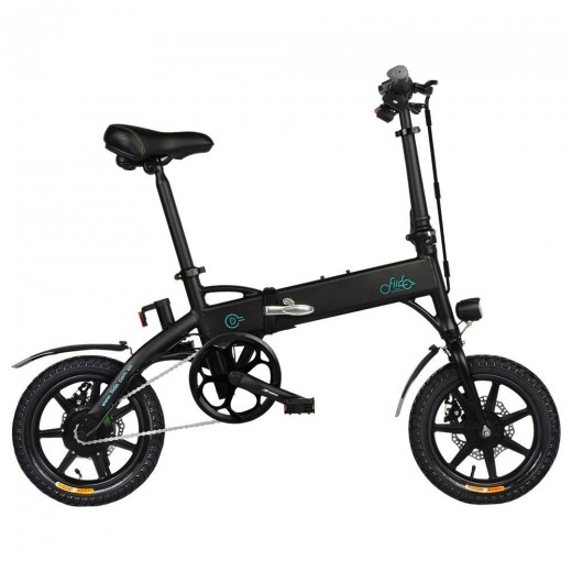 FIIDO D1 Foldable Electric Moped Bike -11.6Ah Lithium Battery