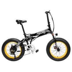 LANKELEISI X2000 Plus Foldable Electric Bike - 10.4AH Power Lithium Battery