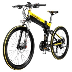 LANKELEISI XT750 Foldable Electric Bike Bicycle - 10.4AH Power Lithium Battery