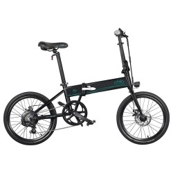 FIIDO D4S Foldable Electric Moped Bike - Variable Speed Version