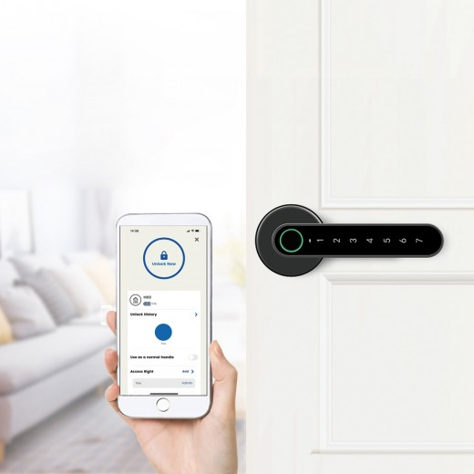 Exitec H03 Smart Fingerprint Lock Smart Keyless Door Lock