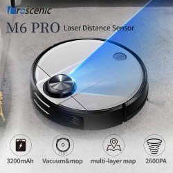 Proscenic M6 Pro LDS Navigation Robot Vacuum Cleaner With 32000 MAh Lithium Battery (EU Plug)