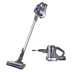 MOOSOO X6 2-in-1Handheld Cordless Vacuum Cleaner With LED Light and Wall Bracket (EU Plug)