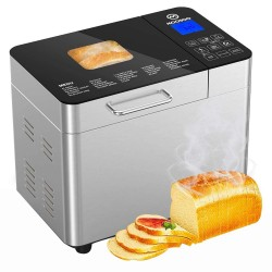 MOOSOO MB30 Stainless Steel Smart Bread Machine Bread Maker (EU Plug)