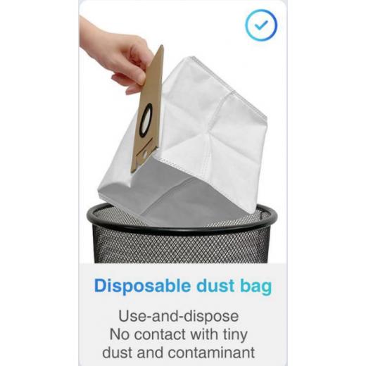 5 Pcs Dust Bags For Xiaomi Viomi S9 Robot Vacuum Cleaner