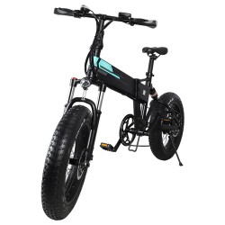 FIIDO M1 Pro Foldable Electric Mountain Bike - 500W Brushless Motor