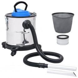 Aschesauger mit HEPA-Filter 1200W 20 L Edelstahl