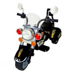 Kinder Motorrad Chopper 2,5 km/h Akku schwarz