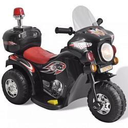 Kinder-Elektromotorrad Schwarz