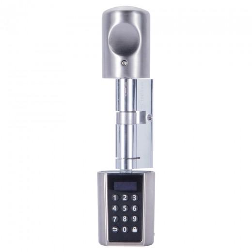 WE.LOCK intelligenter elektronischer Türschlosszylinder mit Zahlencode + Bluetooth + RFID Karte