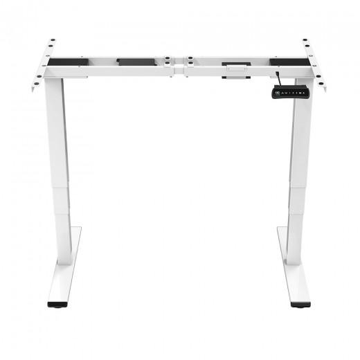ACGAM ET225E Electric Dual-motor Three-stage Legs Standing Desk Frame Ergonomic Height Adjustable Desk Base (Frame Only)