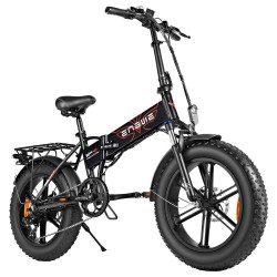 ENGWE EP-2 500W 20 Inch Fat Tire Foldable Electric Bike