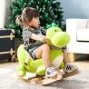 chaukeltier (Einhorn, Esel, Dinosaurier & Giraffe) aus Plüsch