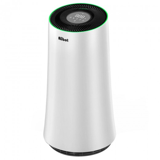 Aiibot A500 Air Purifier 4-stage Filter with LED Touch Screen and Air Quality Sensor