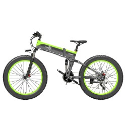 BEZIOR X1000 26 inch Fat Tire Foldable Electric Bike Bicycle - 1000W Motor