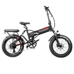 "FAFREES F7 Plus 20"" Fat Tire Foldable Electric Bike - 750W Powerful Motor"
