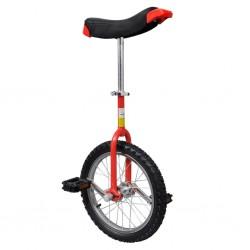 Einstellbares Einrad 40,7 cm rot