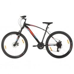 Mountainbike 21 Gang 29 Zoll Rad 48 cm Rahmen Schwarz