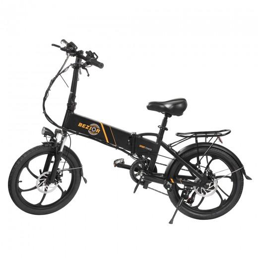 BEZIOR M20 20 Inch Tire Foldable Electric Bike - 48V 10.4Ah Battery