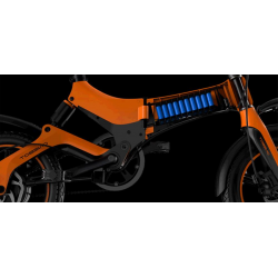 The Battery Spare Part For ONEBOT S6 Portable Foldable Electric Bike