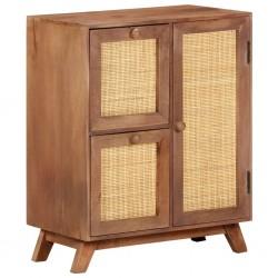 Sideboard 60x35x75 cm Massivholz Mango