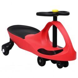 Kinderfahrzeug Wackel-Auto Swing-Auto mit Hupe Rot