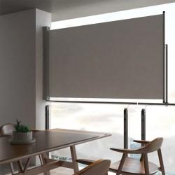 Ausziehbare Seitenmarkise 140 x 300 cm Grau