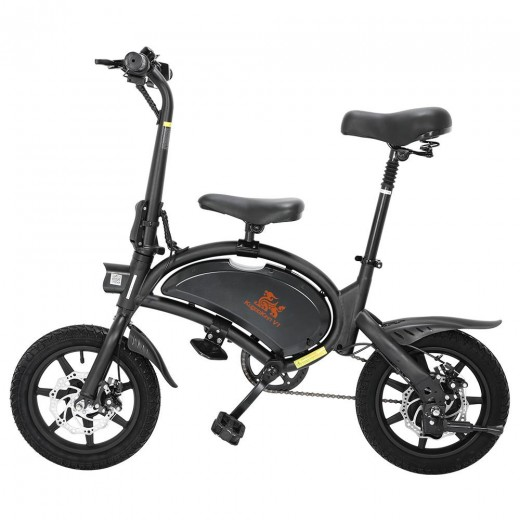 KUGOO Kirin B2 Foldable Moped Electric Scooter With Pedals