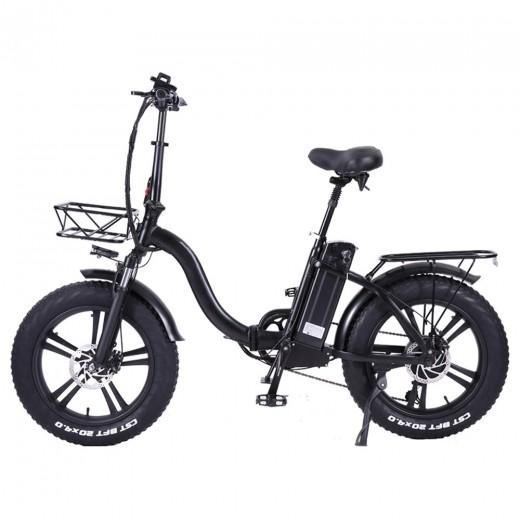 CMACEWHEEL Y20 Electric Moped Bike - 750W Motor & Alloy Integrated Wheels