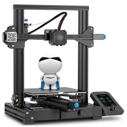 Creality 3D Ender 3 V2 3D Printer 86 x 8661 x 96mm,Supports 220 x220 x250mm Printing Size