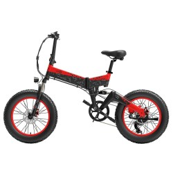 BEZIOR XF200 20 Inch Fat Tire Foldable Electric Bike - 1000W Motor
