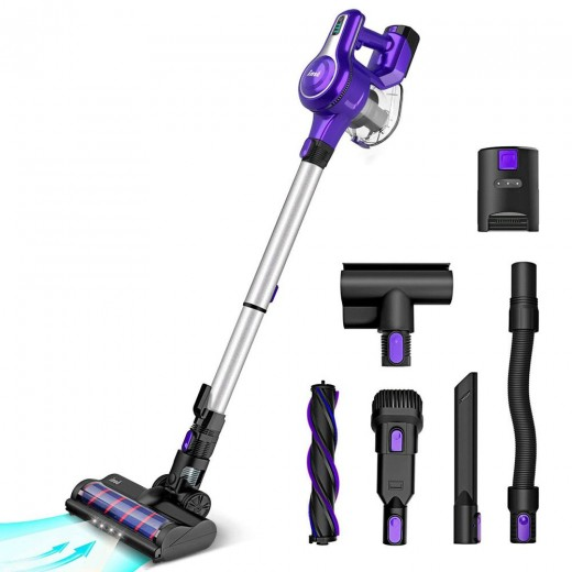 INSE S6 Cordless Handheld Vacuum Cleaner - Purple