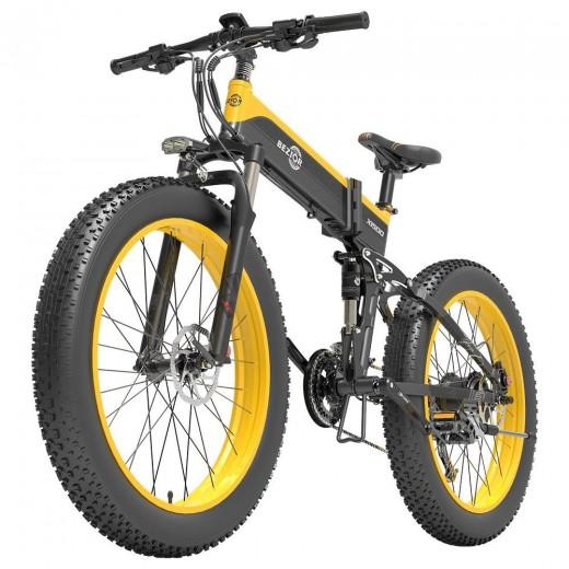 BEZIOR X1500 26 inch Fat Tire Foldable Electric Bike - 1500W Motor