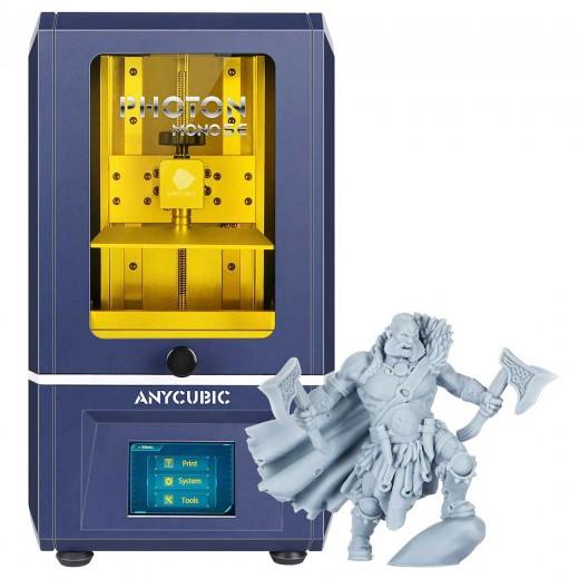 "Anycubic Photon Mono SE 3D Printer Build Volume 130x78x160mm 6.08"" 2K Monochrome LCD"