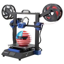 Tronxy XY-3 SE 3D Printer 255*255*260mm Printing Size Dual Extruder + Laser Engraving - Standard + Dual Extruder + Laser Version
