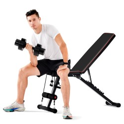 Weight Bench Flat Bench Incline Bench Fitness Club Multi-gym Training Bench Fitness Bench Abdominal Trainer