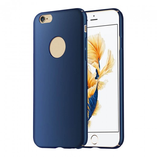 GUMAI Protective Case Ultra-thin Silky Smooth Phone Cover Back Shell For iPhone 6Plus / 6S Plus - Blue