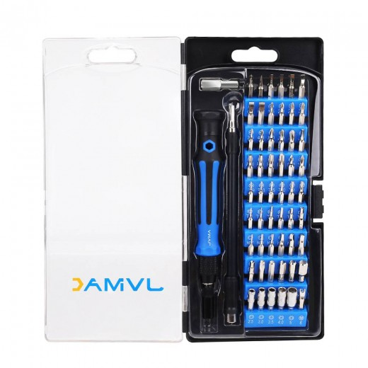 JVMAC JM-5901 59pcs in 1 Multi-function Screwdriver Set Precision Telecommunication Tool Set