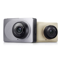 Yi Smart Car DVR Dash Camera 1080P Gray