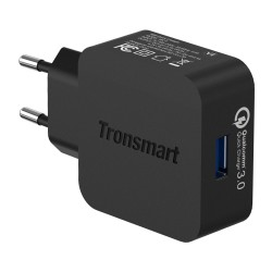 Tronsmart Quick Charge 3.0 USB Rapid Wall Charger with 1.8M USB Type-C Cable