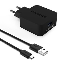 Tronsmart Quick Charge 3.0 Fast Wall Charger with 1.8M Micro USB Cable