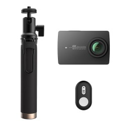 YI 4K Action Camera 2 + Monopod and Bluetooth remote control