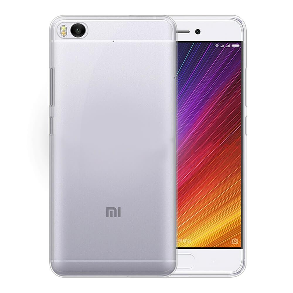 Transparent Xiaomi Mi 5S Soft Case Silicon Back Cover for Xiaomi Mi 5S