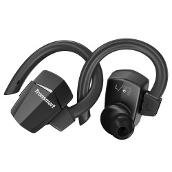 Tronsmart Encore S5 True Wireless Headphones Sports Bluetooth Earphones with Mic for iPhone, Android and More- Black