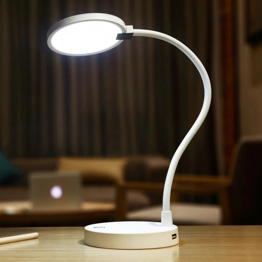 Xiaomi Mijia COOWOO Lamp Mobile 4000mAh Battery UBS Charge / Discharge 4000K Color Rendering -White